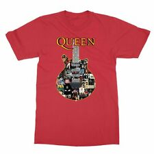 Queen Members Guitar Freddie Mercury Men's T-shirt