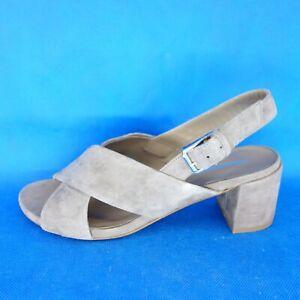 Damen Sommer Schuhe Damenschuhe Slingbacks Sandalen Sandaletten Pumps Leder Neu