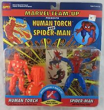 Toy Biz Marvel Spider-Man Human Torch Team Up Figure 2-Pack K-Mart Exclusive