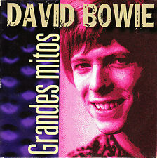 CD SINGLE EP grandes mitos DAVID BOWIE space oddity SPANISH 2000 5-TRACKS SPAIN