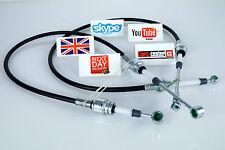 Fiat Punto Gear cambio conexión de cable Link enlaces Mk 2 Set 55194774 & 55194775 Luv