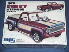 Truck Model Kit MPC 1978 CHEVY STEPSIDE PICK-UP MINT NIB VINTAGE