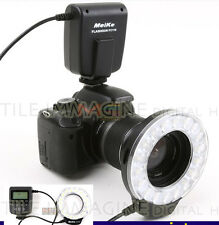 ILUMINADOR FLASH LED ANULAR MEIKE FC110 FC 110 MACRO ANILLO FLASH CANON NIKON