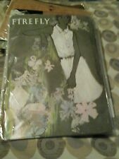 A PAIR OF VINTAGE FIREFLY MADISON SEAMLESS STOCKINGS 1960s SIZE 9 NEW