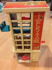 Vintage Fisher Price Elevator For Garage As Is For Parts