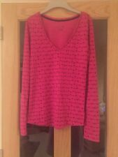 La Senza  Extra Small Pink Long Sleeved Pyjama Top