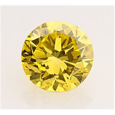2.80 CT. MOISSANITE JAUNE CANARI VVS1 ROND 9.00 mm. EN VRAC SUPERIOR AU DIAMANT