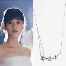 Meteor Garden Geometric Star Pendant Necklace 925 Sterling Silver