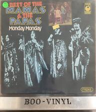 Mama's And The Papa's Monday Monday  vinyl LP album record SPR 90025 VG+ Con