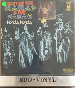 Mama's And The Papa's Monday Monday  vinyl LP album record SPR 90025 VG+ Con
