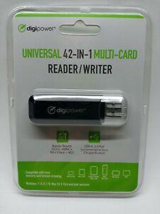Digipower Universal 42-IN-1 Multi-Card 2.0 Reader/Writer NOS