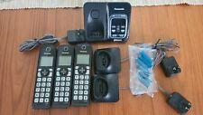 Panasonic Kx-Tgd560, Dect 6.0, 3 Handsets, Link2Cell, Digital Answering Machine