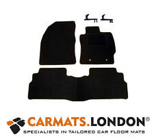 Toyota Verso 2009 - 2016 Tailored Fitted Car Floor Mats Fitted Set in Black