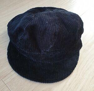 Gorgeous Black Soft Baker Boy Berret Hat. Excellent Condition