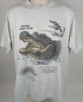 Gatorland T Shirt VTG 90's Orlando Florida Single Stitch FOTL Size XL Cotton