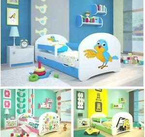 Toddler Bed Children Bed Kids Bed + FREE  MATTRESS 140x70 160x80