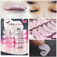 5Pairs Pro Silicone False Eyelash Extension Shield Pad Curling Perming Kit Apply