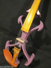 Best SONG Top art Crazy-2 Pink 5strings 4/4 electric violin,solid wood