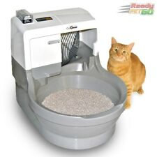 CatGenie Automatic Self-Cleaning, Self-Washing Cat Toilet, Standard Package