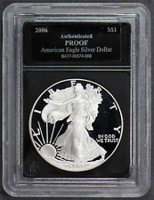 2006-W 1 oz AMERICAN EAGLE $1 SILVER DOLLAR *PROOF* LOT#N367