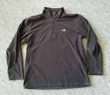 TNF Men's The North Face TKA 100 1/4 Zip Pullover Mid Weight Fleece Brown Sz. XL