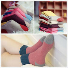 5 Pair Women's Girls Wool Blend Warm Soft Thick Casual Sports Winter Sock Prof