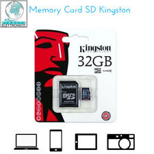KINGSTON MICROSD 32GB TransFlash 32 GB Micro SD SDHC classe 10 Retail SDC10/32GB