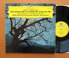 DG 2530 455 Sibelius Symphony no. 1 Okko Kamu Helsinki Radio Symphony EXCELLENT