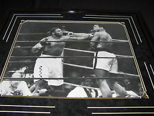 "Muhammad Ali vs. Joe Frazier ""Thrilla in Manila"" Signed 16x20 Photo GAI"