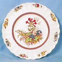 Copeland Spode Rosalie Salad Plate Chelsea Wicker Flowers 51878