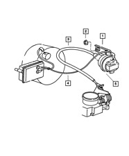 Genuine Mopar Speed Control Servo 4669977