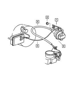 Genuine MOPAR Speed Control Servo 4669977