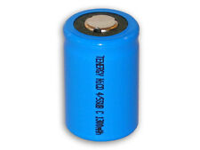 1 Pack Tenergy 4/5 SubC 1300mAh NiCd Flat Top Rechargeable Battery