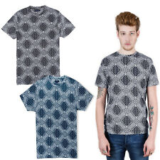 Mens T-Shirt Brave Soul Maxwell New Paisley Print Short Sleeved Crew Neck Top
