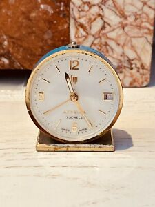 Réveil Pendulette LIP Appella Swiss Made FONCTIONNE watch clock montre