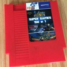 Nintendo NES Cartridge 150 in 1 rockman ninja turtles contra and more games