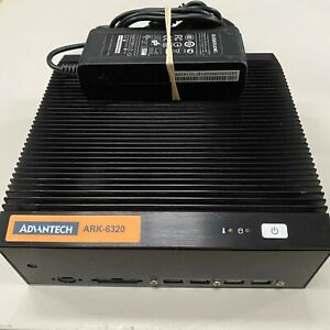 Advantech ARK-6320 12v DC MINI Fanless PC, INTEL ATOM D510 1.66Ghz 2GB 160Gb Hdd