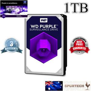 """NEW Western Digital WD Purple 3.5"""" 1TB Surveillance Internal Hard Drive OEM"""