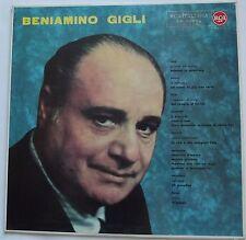 LP-BENIAMINO GIGLI-BENIAMINO GIGLI-ITALIA 196?