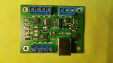 PA LNA TRX TRCVR RF Relay Sequencer, 4 ports/3 events, USB/footswitch controlled