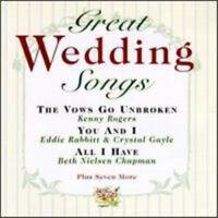 Great Wedding Songs / Various - Great Wedding Songs - EACH CD $2 BUY AT LEAST 4