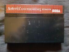 ASTERIX e la missione segreta locale Master System Gioco