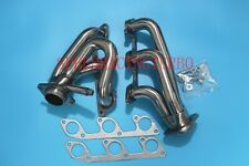 "EXHAUST HEADERS FOR 05-10 FORD MUSTANG 4.0L V6 1-5/8"" SHORTY TUNED ONE PAIR SS"