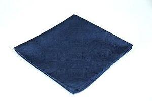 Lord R Colton Masterworks Pocket Square - Bergamo Alta Navy Tapestry - $75 New