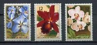 38485) BELGIUM MNH** 1985 Orchids 3v