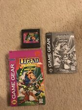 Sega Game Gear Legend Of Illusion Micky Mouse Complete In Box