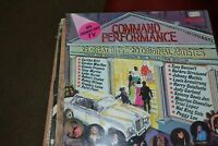 COMMAND PERFORMANCE  25 GREAT HITS    20 ORIGINAL ARTIST    LP   RONCO MSD 2005