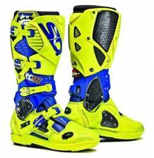Stivali blu marca Sidi per motociclista
