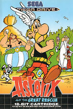 # como nuevo: asterix and the Great Rescue-Sega Mega Drive/MD juego #