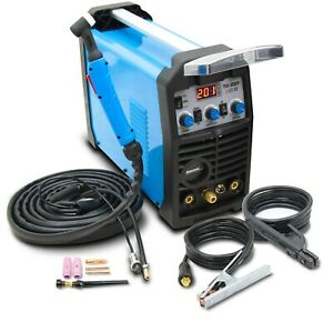 TIG Welder DC Pulse 200AMP Welding inverter machine MMA ARC HF IGBT Sherman